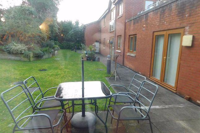 Communal Gardens of Manston Lodge, Hampstead Drive, Stockport SK2