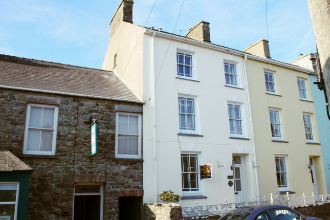 Thumbnail End terrace house for sale in Nun Street, St. Davids, Haverfordwest