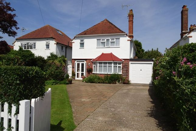 Thumbnail Detached house for sale in Harvey Road, Goring-By-Sea, Worthing