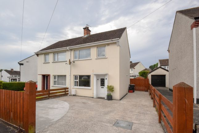 Thumbnail Semi-detached house for sale in 48 Cherryhill Road, Dundonald, Belfast