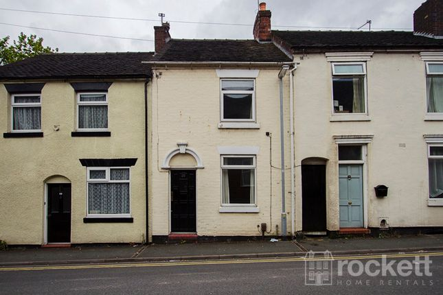 Thumbnail Terraced house to rent in Well Street, Newcastle-Under-Lyme