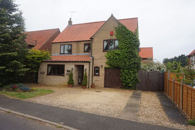 Thumbnail Detached house for sale in Dennys Walk, Narborough, King's Lynn