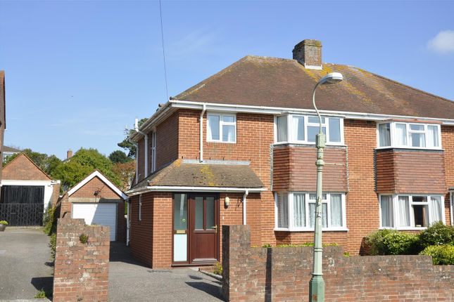 Thumbnail Semi-detached house for sale in Rosebank Crescent, Exeter