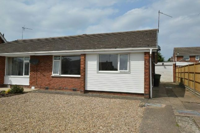 Thumbnail Semi-detached bungalow to rent in Earl Smith Close, Whetstone, Leicester