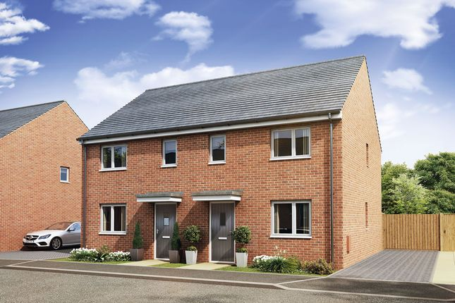 Thumbnail Semi-detached house for sale in The Lawrence, Victoria Park, Stoke