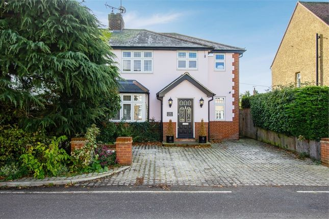 Thumbnail Semi-detached house for sale in Mill Road, Stock, Ingatestone, Essex