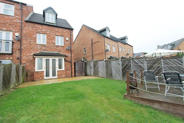 Thumbnail Town house to rent in Nettlecroft, Monk Bretton, Barnsley