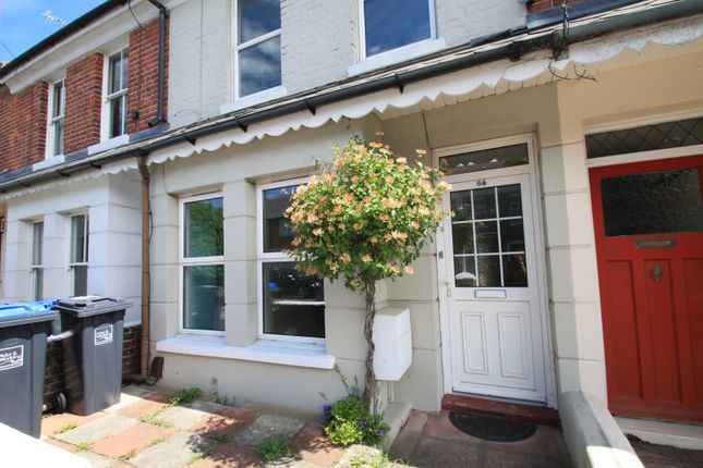 Thumbnail Terraced house to rent in Lanfranc Road, Worthing