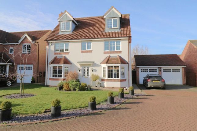 Thumbnail Detached house for sale in Brock Close, Epworth, Doncaster