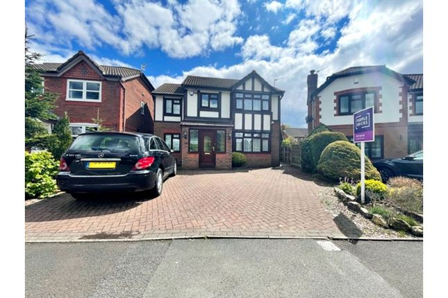 Detached house for sale in Evesham Gardens, Manchester
