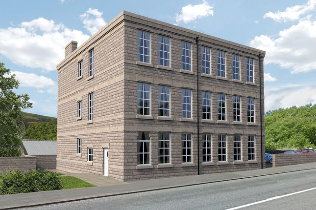 Thumbnail Flat for sale in 110 Charlestown Road, Glossop