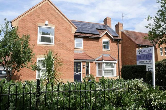 Thumbnail Detached house for sale in Flambard Drive, Bishop Auckland