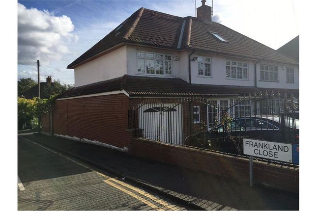 Thumbnail Semi-detached house for sale in Hillside Avenue, Essex, Woodford