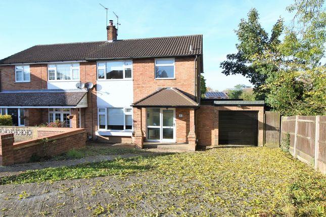 Thumbnail Semi-detached house for sale in Fir Tree Close, Hemel Hempstead