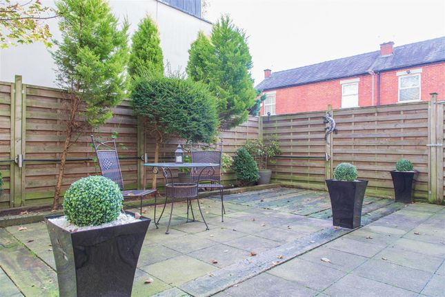 Rear Yard of Claremont Avenue, Didsbury, Manchester M20