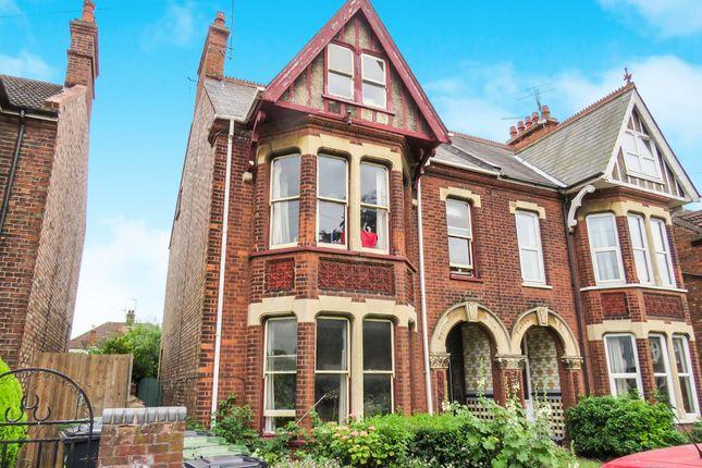 Thumbnail Semi-detached house for sale in Swiss Terrace, Tennyson Avenue, King's Lynn