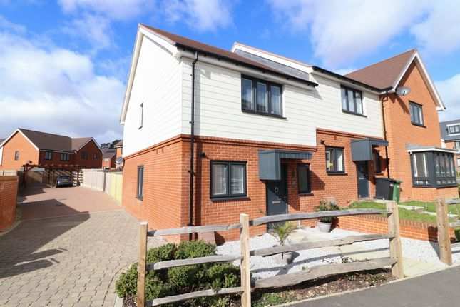 Thumbnail End terrace house for sale in Claypit Copse, Bursledon, Southampton