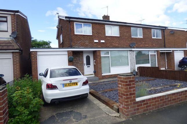Thumbnail Semi-detached house to rent in Briardene Drive, Wardley, Gateshead