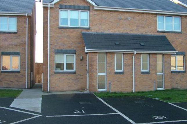Thumbnail Semi-detached house to rent in Glenavon Street, Port Talbot