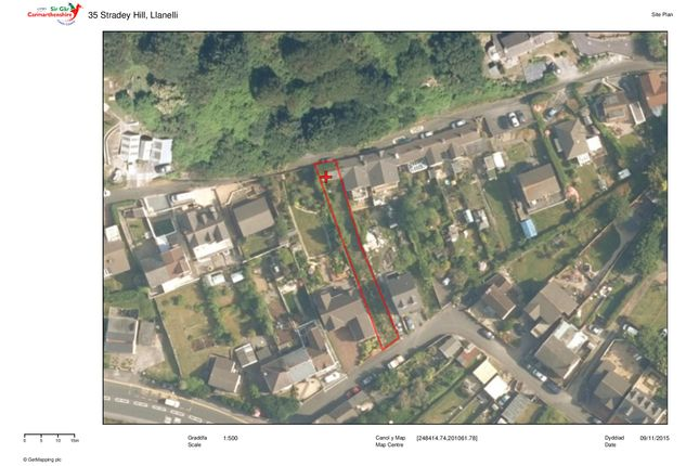 Thumbnail Land for sale in 35 Stradey Hill, Llanelli