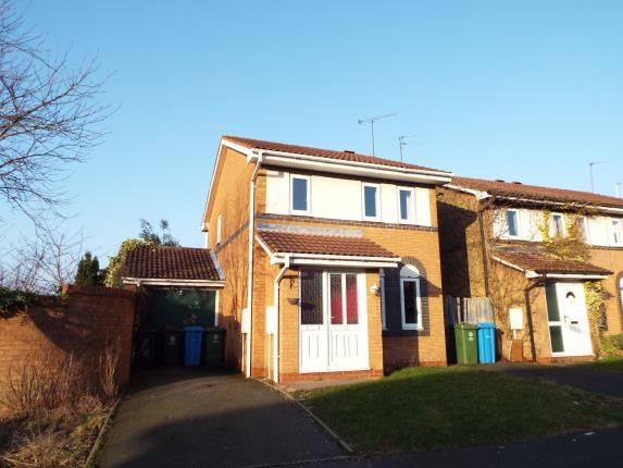 Thumbnail Detached house for sale in Woodstock Drive, Cannock, Staffordshire