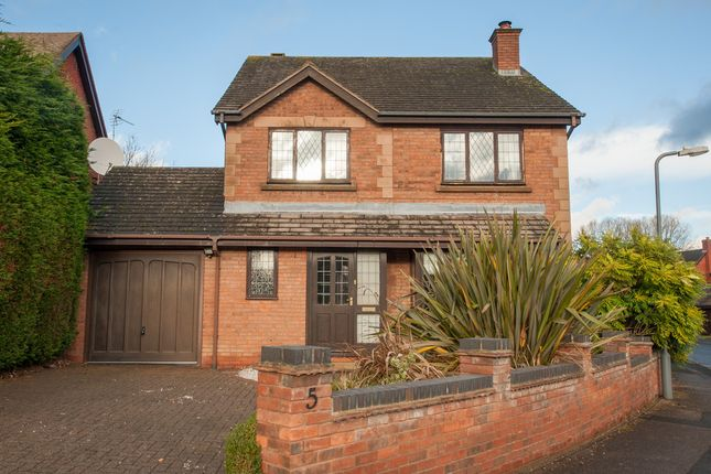 Thumbnail Detached house for sale in Shrubbery Close, Walmley, Sutton Coldfield
