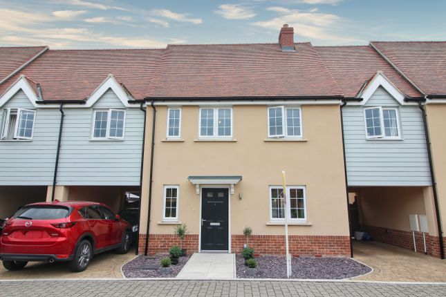 Thumbnail Terraced house for sale in Berryfield Close, Tiptree, Colchester