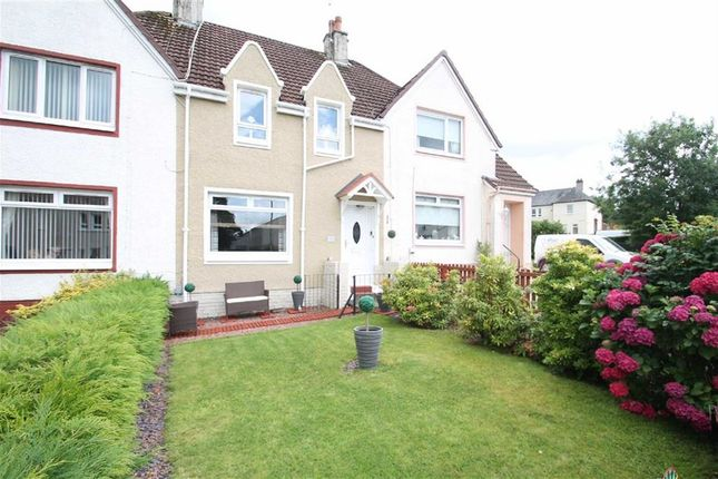 Terraced house for sale in Park Avenue, Elderslie, Renfrewshire