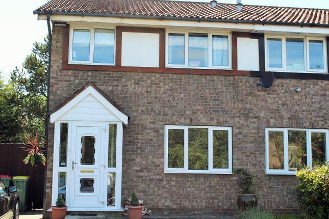 Thumbnail Semi-detached house to rent in Ash Meadow, Lea, Preston