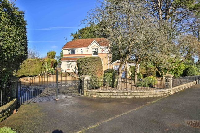 Thumbnail Detached house for sale in Newport Road, Old St. Mellons, Cardiff