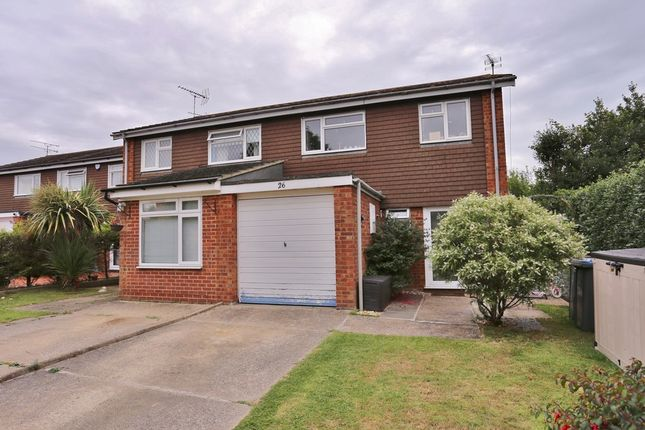 Thumbnail Semi-detached house for sale in Gosford Way, Old Felixstowe, Felixstowe