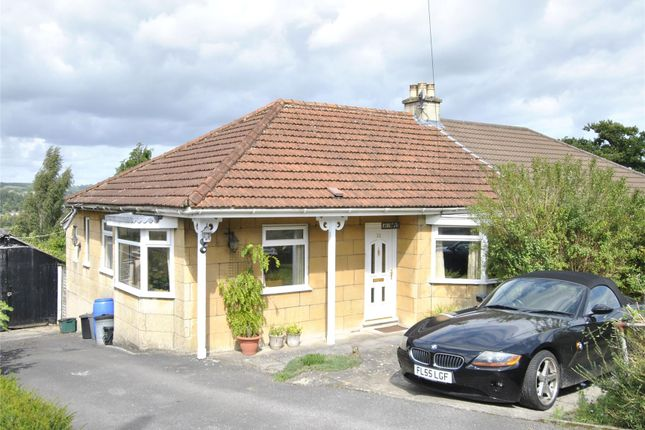 Thumbnail Semi-detached bungalow for sale in Warminster Road, Bath, Somerset