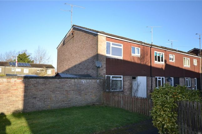 Thumbnail End terrace house for sale in Hearsey Gardens, Blackwater, Camberley
