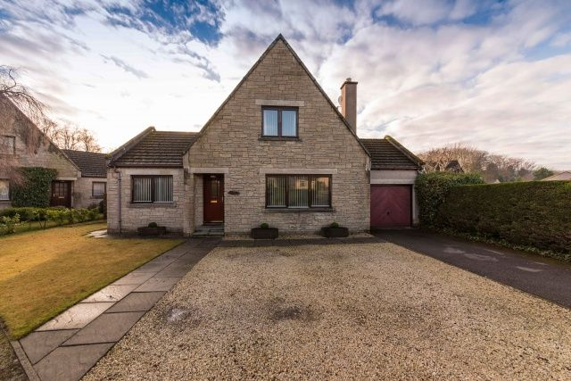 Thumbnail Detached house for sale in Annesley Grove, Torphins, Banchory, Aberdeenshire