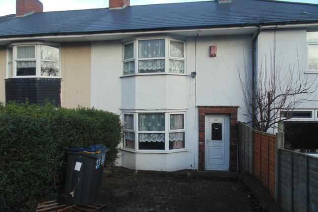 Thumbnail Terraced house for sale in Weycroft Road, Erdington, Birmingham