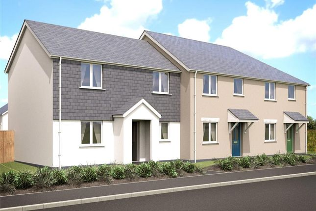 Thumbnail End terrace house for sale in Valley View, Rally Close, Lanreath, Looe