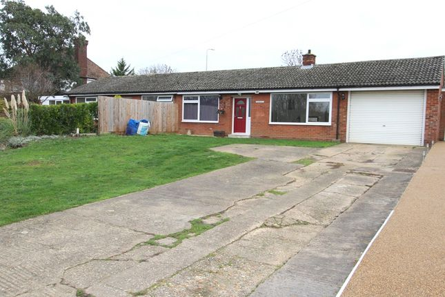 Thumbnail Semi-detached bungalow for sale in Church Street, Tempsford