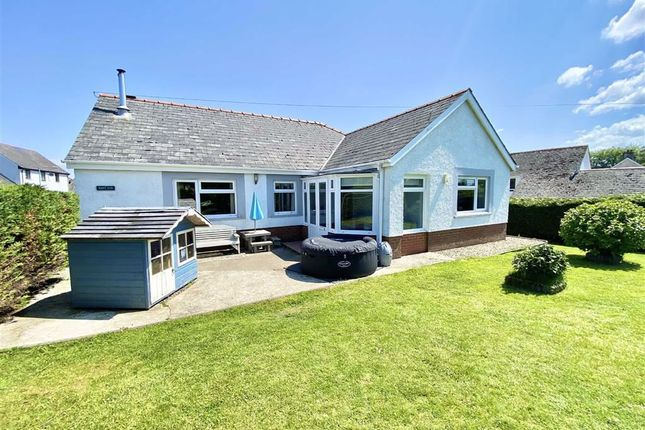 Thumbnail Detached bungalow for sale in Crymych, Pembrokeshire, Crymych