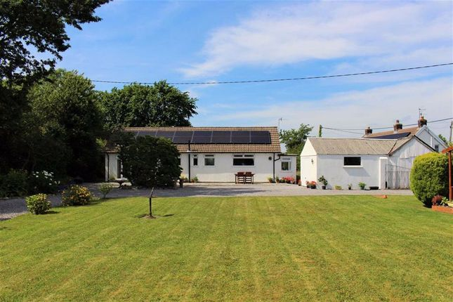 Thumbnail Detached bungalow for sale in Pennard Road, Pennard, Swansea