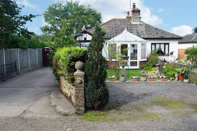 Thumbnail Semi-detached bungalow for sale in 30A Pilcox Hall Lane, Tendring, Clacton-On-Sea, Essex