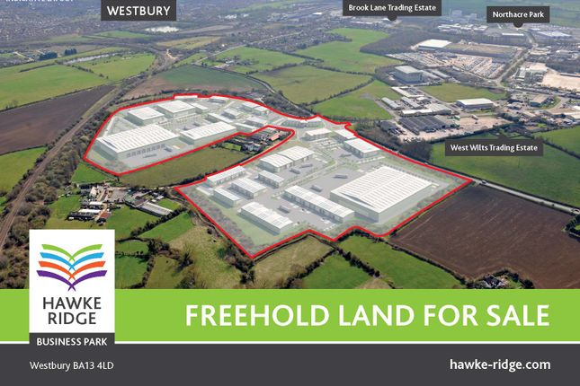 Thumbnail Land for sale in Hawke Ridge Business Park, Westbury