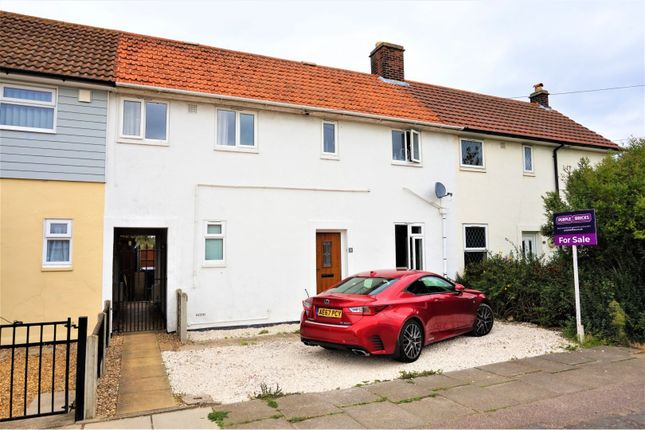 Thumbnail Terraced house for sale in Clairmont Road, Colchester