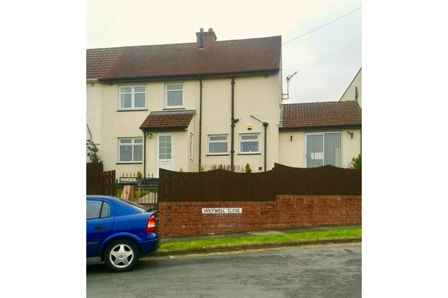 Thumbnail Semi-detached house for sale in Holywell Close, Abergavenny