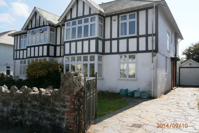 Thumbnail Detached house to rent in Hartley Park Gardens, Plymouth