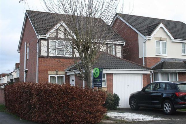 Thumbnail Detached house for sale in Haskell Close, Thorpe Astley, Braunstone, Leicester