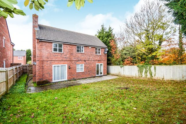 Thumbnail Detached house for sale in Bridgemere Close, Leicester