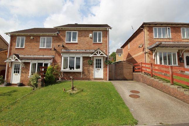 Thumbnail Semi-detached house for sale in Trem Y Garth, Llanharry, Pontyclun, Rhondda, Cynon, Taff.