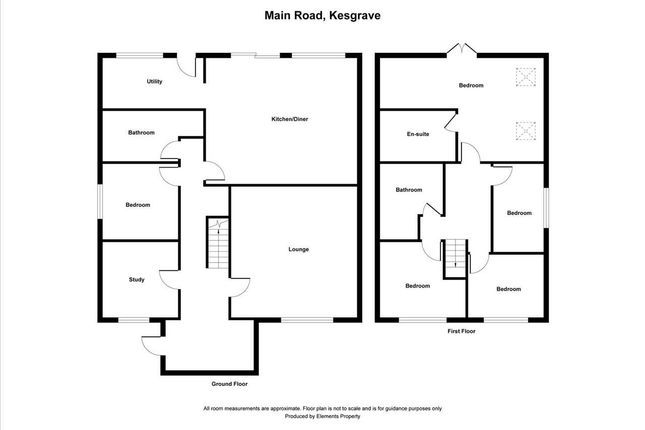 Thumbnail Detached house for sale in Main Road, Kesgrave, Ipswich