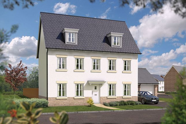 "Thumbnail Detached house for sale in ""The Stratford"" at Bradley Bends, Devon, Bovey Tracey"