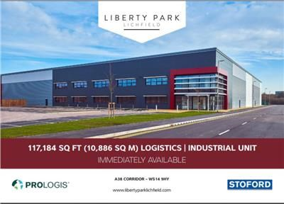 Thumbnail Warehouse to let in L117 Liberty Park, A38, Lichfield, Staffordshire
